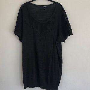 Torrid Black sweater size 3x